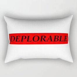 Deplorable Rectangular Pillow