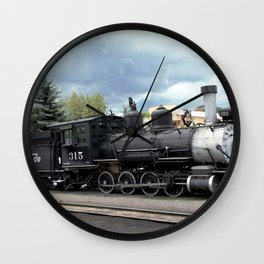 Relic of the Historic Denver & Rio Grande Western NG Railroad Wall Clock