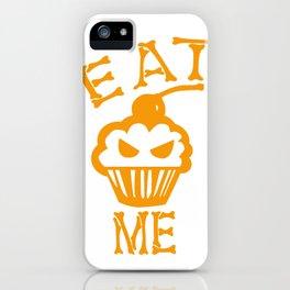 Eat me yellow version iPhone Case