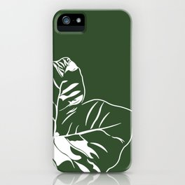 Greenie iPhone Case