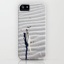 Solitary Feather iPhone Case
