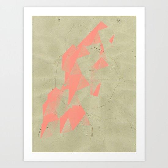 two singulars Art Print