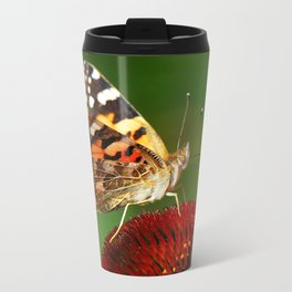 Butterfly macro 64 Metal Travel Mug