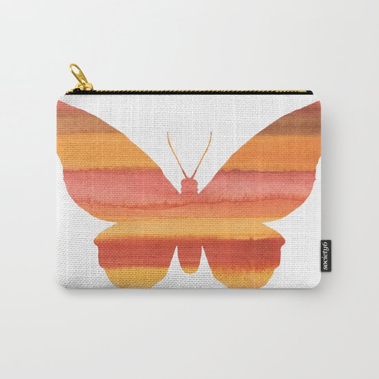 Butterfly color Carry-All Pouch