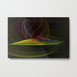 Twirl Metal Print
