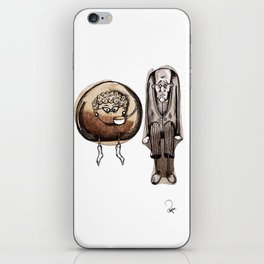 Old couple iPhone Skin