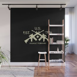 M4 Assault Rifles - U.S. Est. 1776 Wall Mural