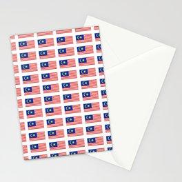 Flag of Malaysia-malay,malaysian,Kuala Lumpur,Malacca,malasia. Stationery Cards
