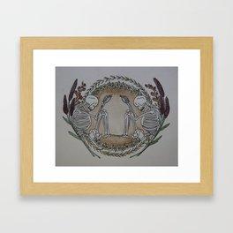 Till We Meet Death Framed Art Print