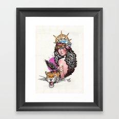 Gitana Framed Art Print