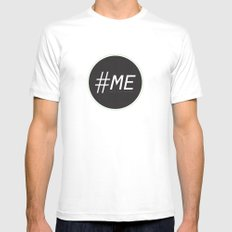 Follow Me Mens Fitted Tee MEDIUM White