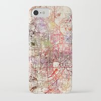 minneapolis iPhone & iPod Cases featuring Minneapolis by MapMapMaps.Watercolors