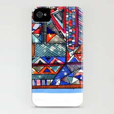 Tribal Texture Slim Case iPhone (4, 4s)