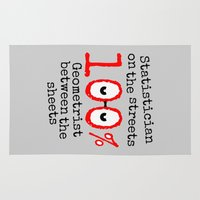 geek Area & Throw Rugs featuring Math Geek by mailboxdisco
