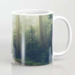 Redwood Forest Adventure - Nature Photography Coffee Mug