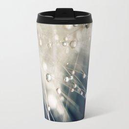 dandelion evening blue Travel Mug