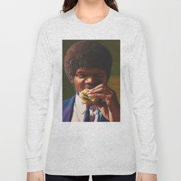 Tasty Burger Long Sleeve T-shirt