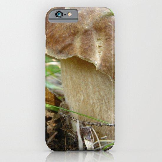 Wild mushroom (Boletus edulis, porcini) iPhone & iPod Case
