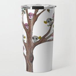 Cockatoos sitting in a Gum Tree Travel Mug
