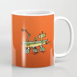 Curiosity, the rover Coffee Mug