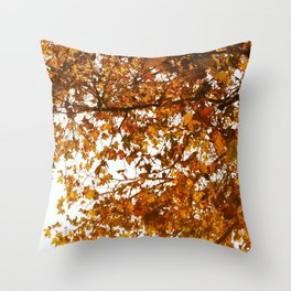 Unbe-leaf-able Throw Pillow