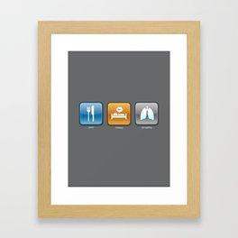 An App for That Framed Art Print