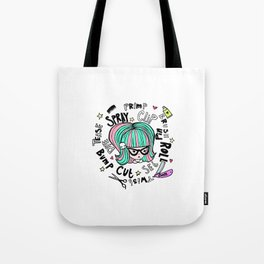 Cutie Cuts Tote Bag