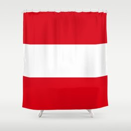 Flag: Austria Shower Curtain