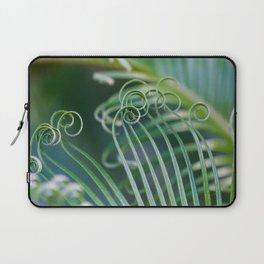Palm frond spirals Laptop Sleeve