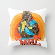Mr.C Throw Pillow