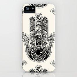 Hamsa Hand Frenchie iPhone Case