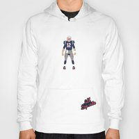 patriots Hoodies featuring Pats - Tom Brady by IllSports