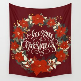Christmas Greetings 5 Wall Tapestry