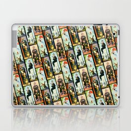 Haunted Mansion Stretch Paintings Laptop & iPad Skin