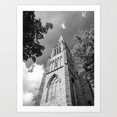 Dublin Church (RR149) Art Print