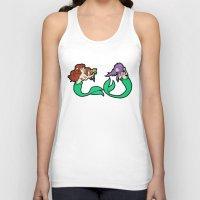 mermaids Tank Tops featuring Mermaids by Stella Vee