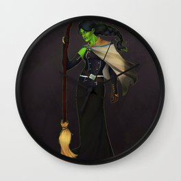 Elphaba, The Wicked Witch Wall Clock