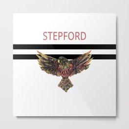 STEPFORD JAILBIRD Metal Print