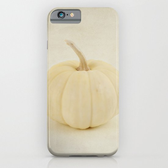 Baby White Pumpkin iPhone & iPod Case