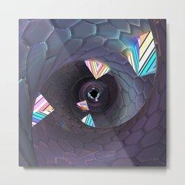 Fantasy Tunnel Metal Print