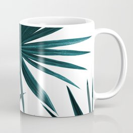 Fan Palm Leaves Jungle #1 #tropical #decor #art #society6 Coffee Mug