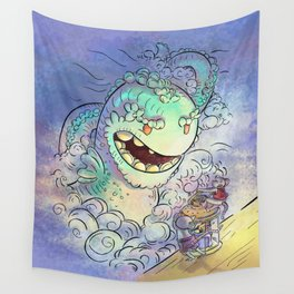 Sea Serpent Wall Tapestry