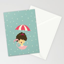 Miss Cupcakes Stationery Cards