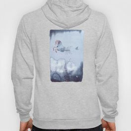 Hippocampus - Horse fish tail - Watercolor Hoody