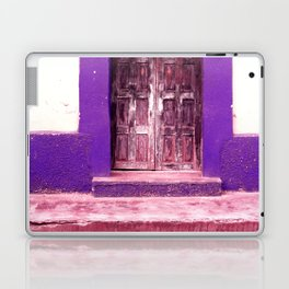 Blue Door Laptop & iPad Skin