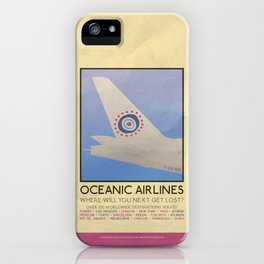 Silver Screen Tourism: OCEANIC AIRLINES / LOST iPhone Case