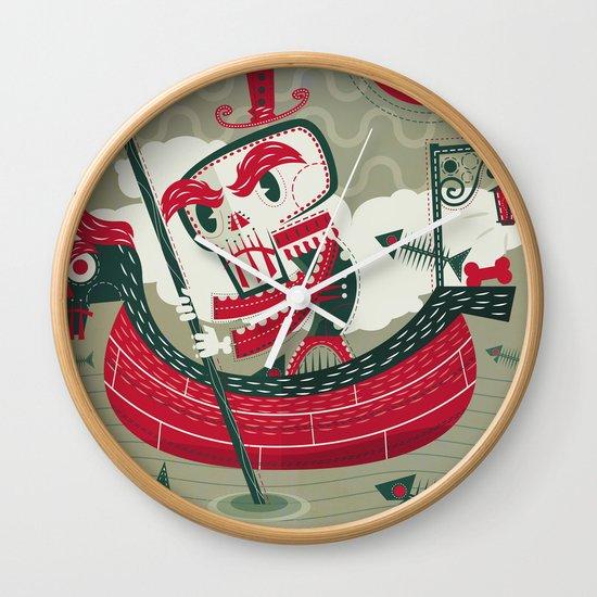 Calaverita Wall Clock