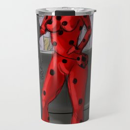 Adult Ladybug and Chat Noir Travel Mug