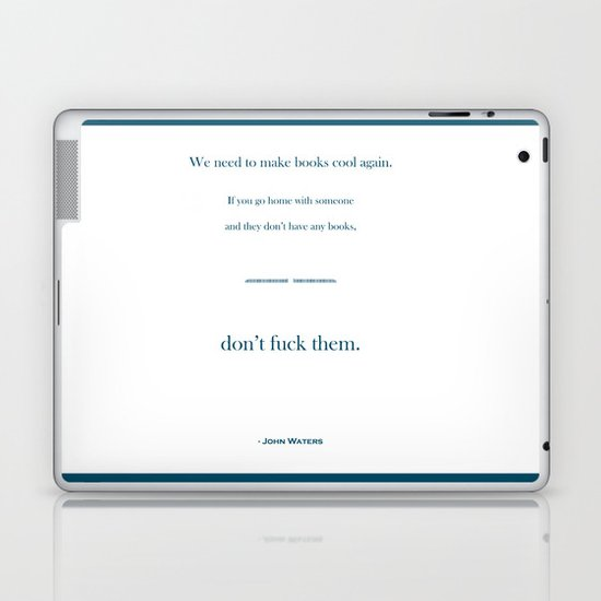 Books Are Cool Laptop & iPad Skin