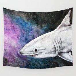 Galaxy Shark Wall Tapestry